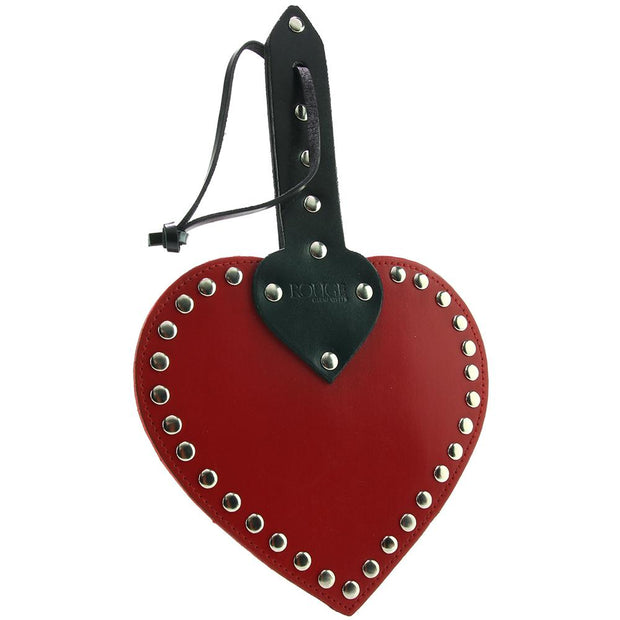 Heart Paddle in Red