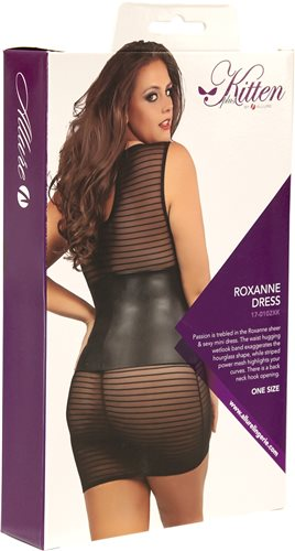 Allure - Kitten Plus - Roxanne Dress, One Size Plus