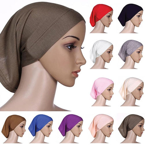 Head Scarf Cotton Underscarf Hijab Cover