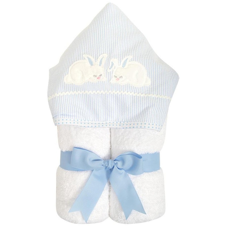 3 Martha's Blue Bunny EveryKid Hooded Towel