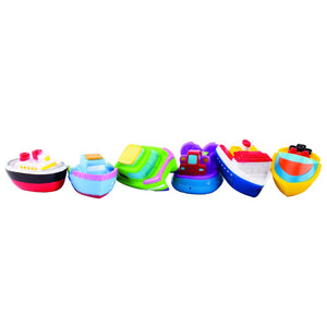 BOAT PARTY SQUIRTIE BABY BATH TOYS