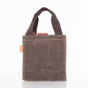 Waxed Canvas Beer Bottle Carrier