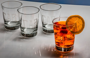 FLARED CLASSIC DOUBLE OLD FASHIONED GLASSES