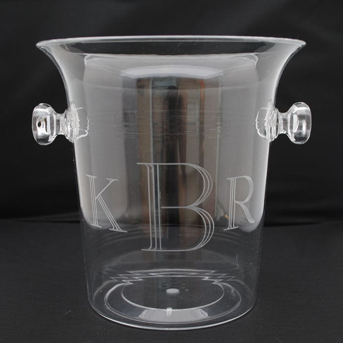 ACRYLIC ICE BUCKET/CHAMPAGNE COOLER - 3.5 QUART
