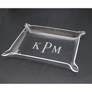 "SMALL ACRYLIC TRAY - 8 1/2"" X 6 1/2"" X 1"