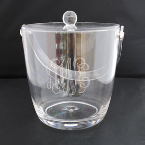 ACRYLIC ICE BUCKET WITH LID AND HANDLE - 2.5 QUART