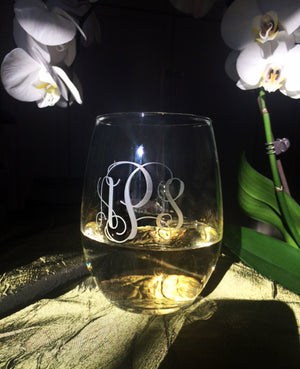 21 OZ STEMLESS WINE GLASSES - SET OF 4