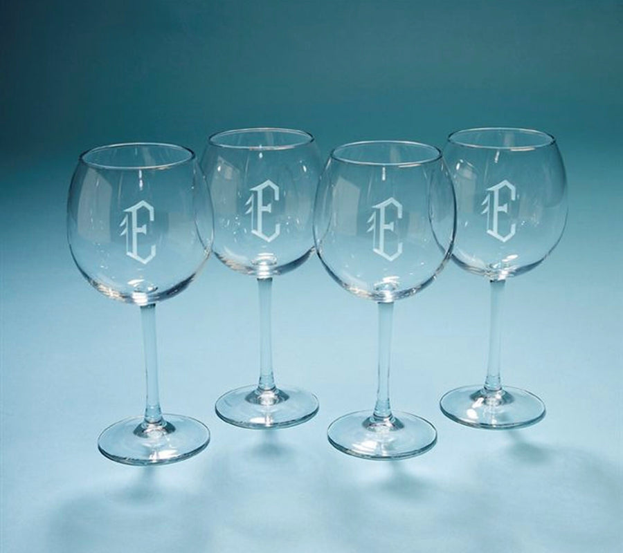PERSONALIZED BAROLLO RED WINE GLASSES