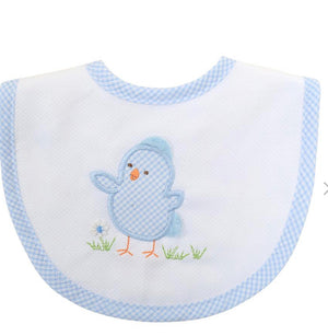 3 Martha's Blue Chick Bib