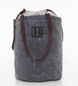 Waxed Canvas Laundry Tote - 2 Colors