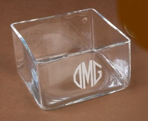 Crystal Beverage Napkin Holder