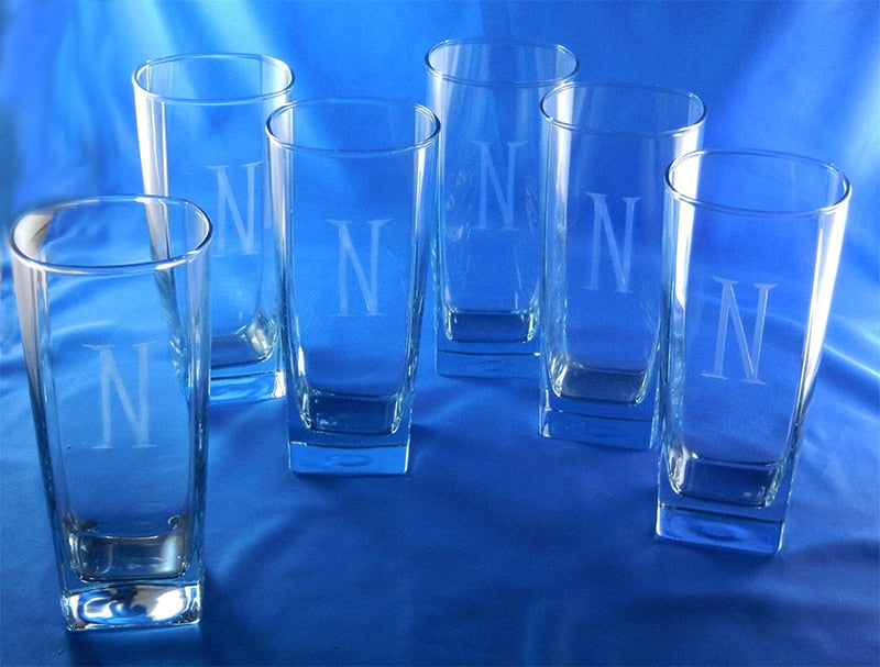 PERSONALIZED STERLING CLASSIC COOLER GLASSES