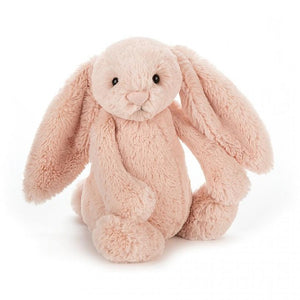 Medium Bashful Bunny is a popular fellow with scrummy-soft Jellycat fur and lovely long flopsy ears mean that with just one cuddle, you'll never want to let go. Irresistibly cute and a perfect gift for boys or girls. Everyone treasures this little beige bunny.