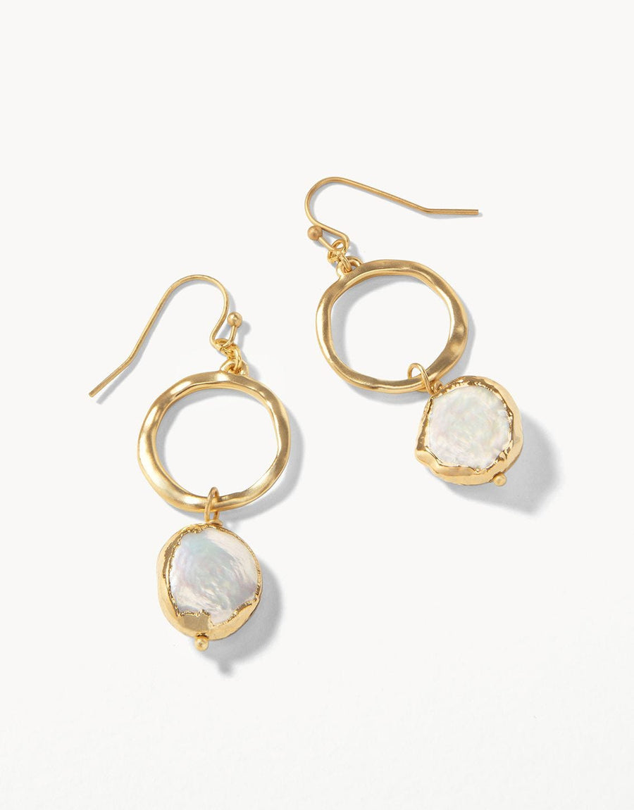 Spartina - COIN PEARL EARRING