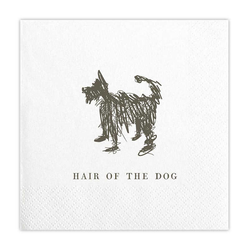 Hair of the Dog Beverage Napkins