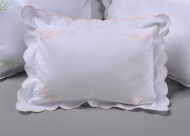 Pink Bow Baby Pillow