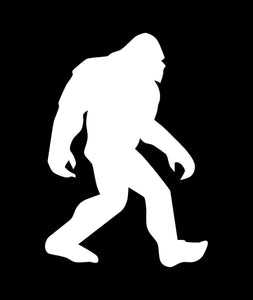 Bigfoot Decal (WHITE)