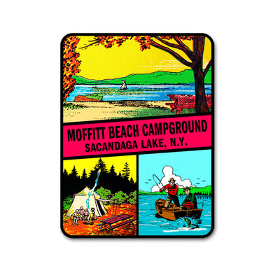 Moffitt Beach Vintage Decal!