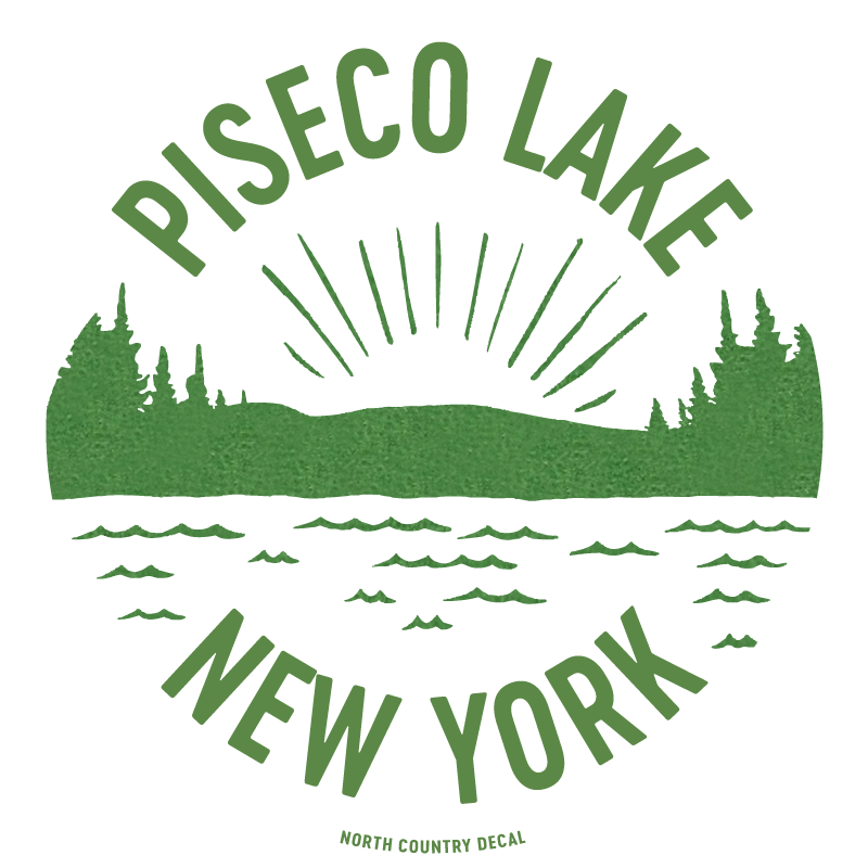 Piseco Lake Green and White!