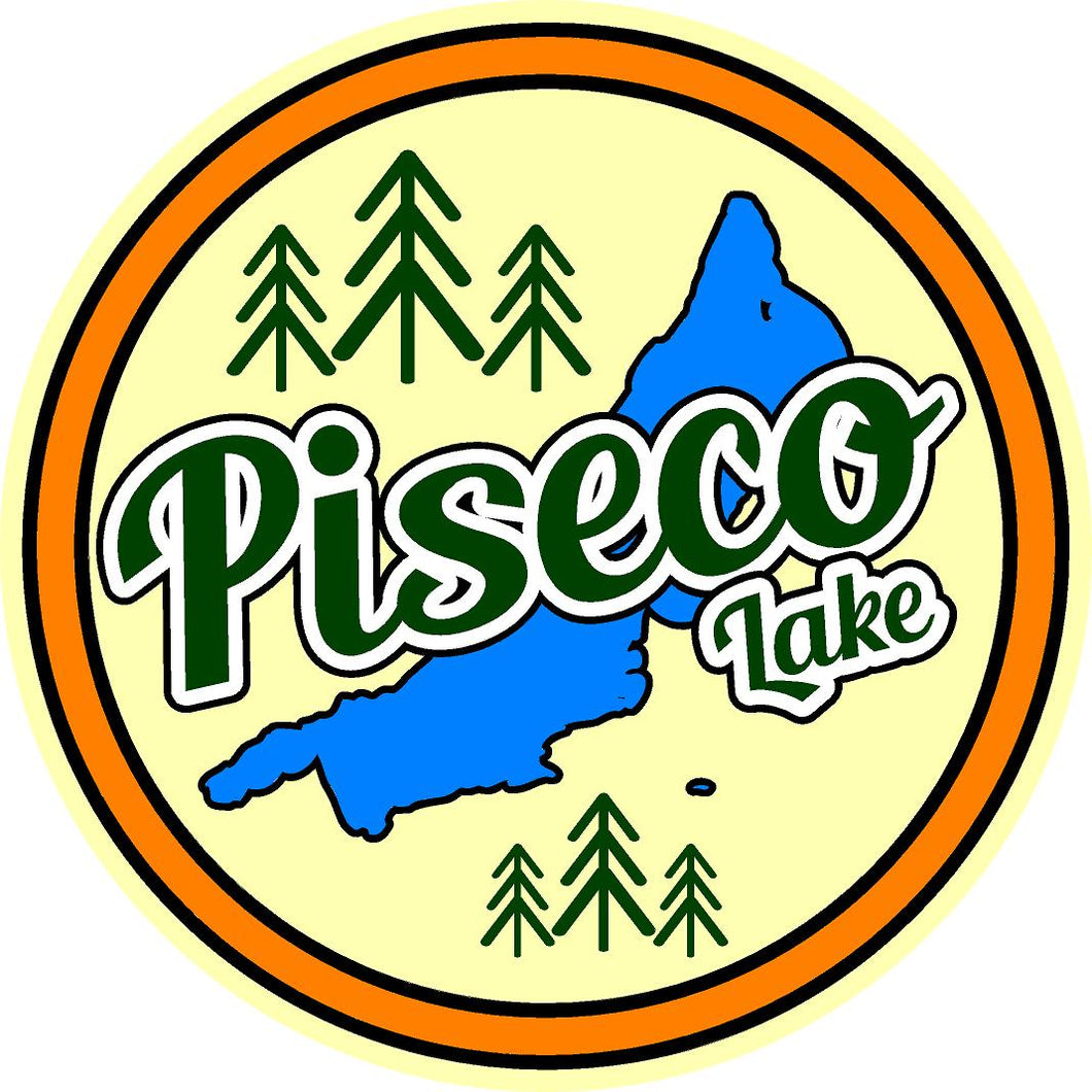 Piseco Lake Sticker!