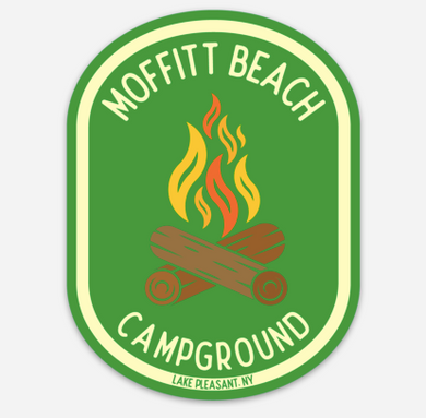 Moffitt Beach Campground Sticker!