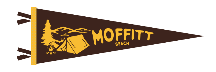 Moffitt Beach Pennant!
