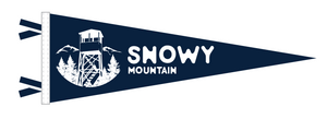 Snowy Mountain Pennant! PREORDER AVAIL FEB 1!