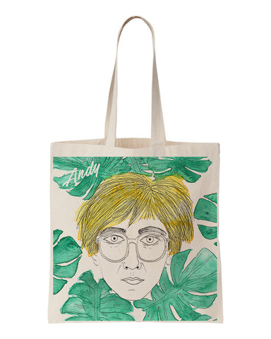 tote bag andy wharol