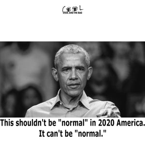 Obama It can't be normal