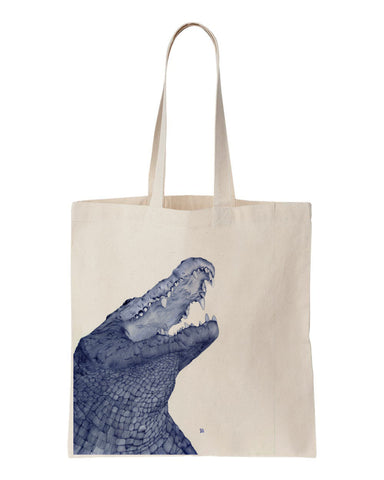 totebag crocodile