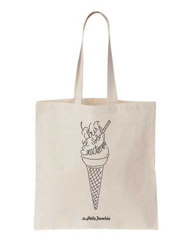 tote bag ice cream