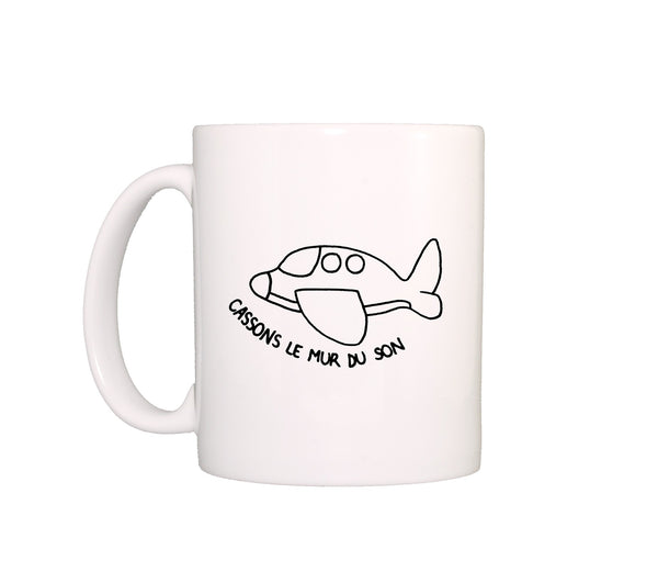 Mug design Cassons le Mur du Son