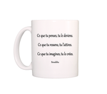 mug citation bouddha