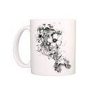 mug design Flowers Blow