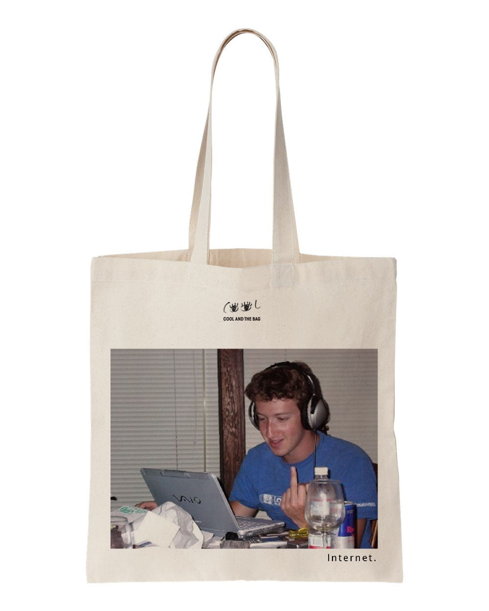tote bag mark zuckerberg