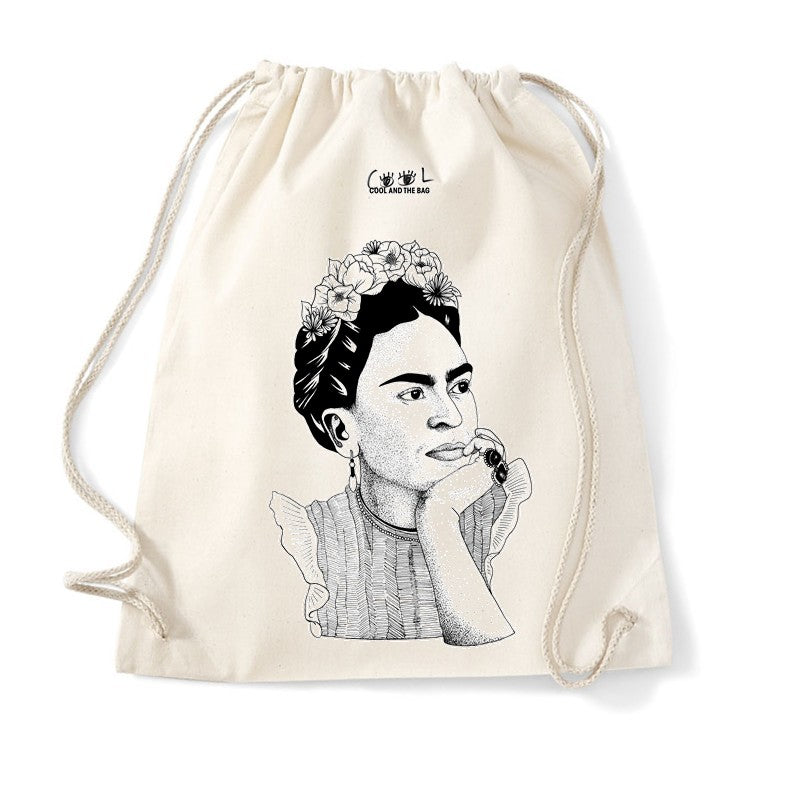 sac de gym Frida Kahlo