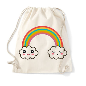 sac de gym arc en ciel