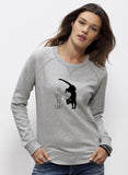 sweat femme original saut de chat