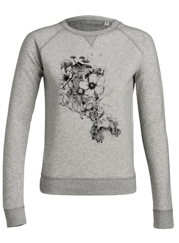 sweat original femme Flowers Blow