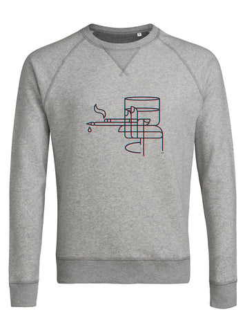 Sweatshirt original homme La Main