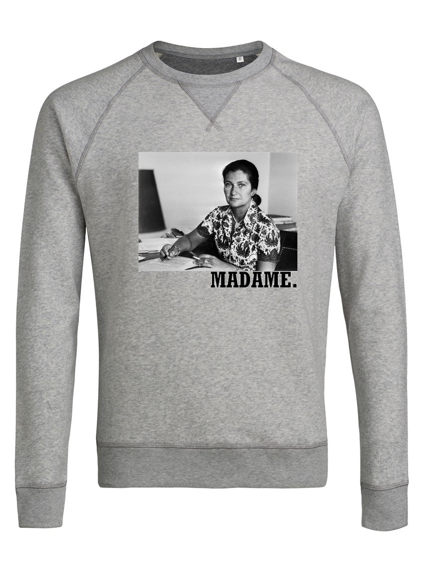sweat shirt homme simone veil