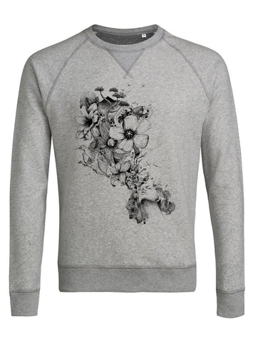 sweat shirt original homme Flowers Blow