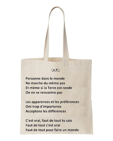 Tote bag Arnold et Willy