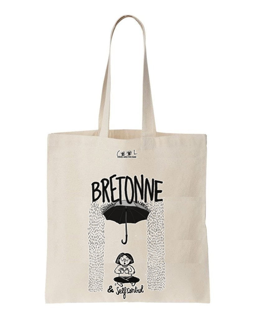 tote bag Bretonne & Self-Control