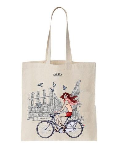 tote bag I love Paris