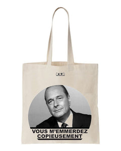 tote bag Jacques Chirac