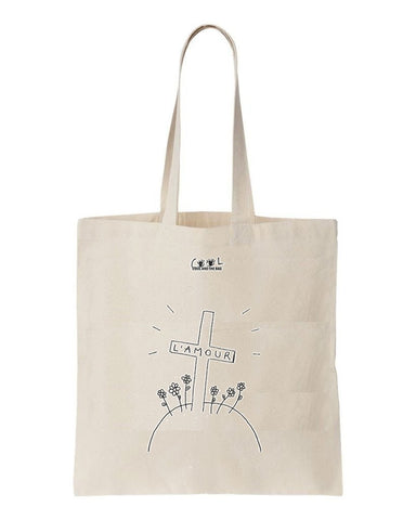 tote bag L'amour
