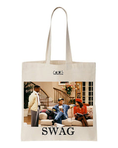 tote bag le prince de bel air