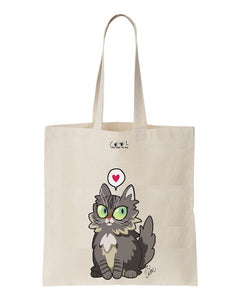 tote bag scarlett the cat