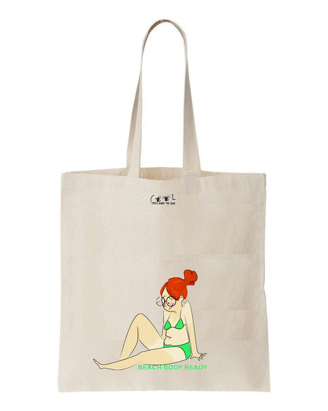 tote bag beach body ready